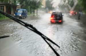 6098745 - looking through the car window in the rain