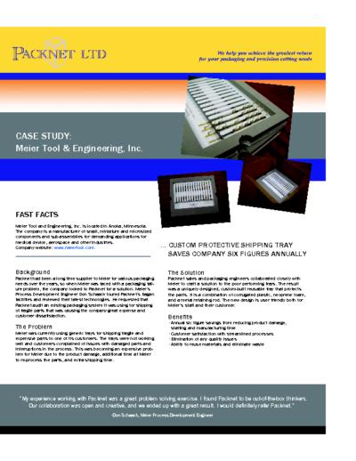 Meier Tool and Engineering